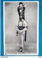 CPA - BAYONNE - CULTURE FOLKLORE - Musée Basque - Danseurs Souletins - Un Volant - Bayonne