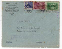 Brésil: Devant D'enveloppe Avec 3 Timbres  1930  (PPP17810) - Cartas