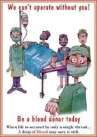 @@@ MAGNET - Blood Donation - Publicitaires