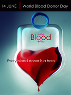@@@ MAGNET - World Blood Donor Day 14 June - Publicitaires
