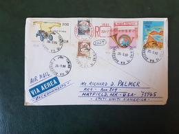 (27702) STORIA POSTALE ITALIA 1990 - 1981-90: Storia Postale
