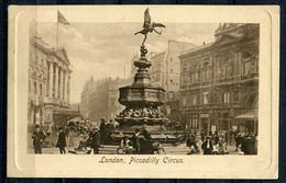 "CPA S/w Raphael Tuck Künstlerkarte1910 ""London-Piccadilly Circus,belebt,No.2451 ""1 AK Used - Ansichtskarten"