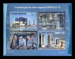 Guinea-Bissau 2019 Mih. 10403/06 Space. Apollo 11 (I) MNH ** - Guinée-Bissau