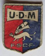 écusson Sport Blason Hermine Auray ? FSCF Fédération Sportive Culturelle De France UDM Union Départementale Morbihan - Sports