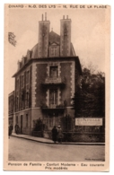 CPA 35 - DINARD (Ille Et Vilaine) - N.-D. Des Lys, 16 Rue De La Plage. Pension - Dinard