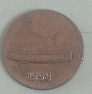 India Indein 1998 Error Coin  Noida Mint - India