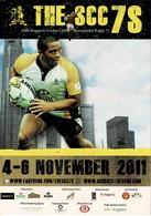 24K : SCC International Sevens Rugby Tournament Advertisement Postcard - Rugby