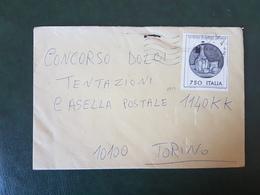 (27711) STORIA POSTALE ITALIA 1990 - 1981-90: Storia Postale