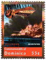 DOMINICA 1v MNH** Japan Bombs Pearl Harbor - War - Krieg - Guerra Harbour - WWII - World War II Bombing - WW2