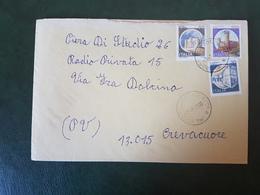 (27716) STORIA POSTALE ITALIA 1990 - 1981-90: Storia Postale