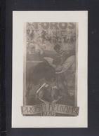 Tarjeta Toros Valencia 1926 - Corridas