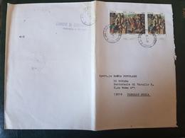 (27725) STORIA POSTALE ITALIA 1990 - 1981-90: Storia Postale