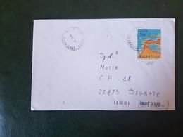 (27729) STORIA POSTALE ITALIA 1990 - 1981-90: Storia Postale
