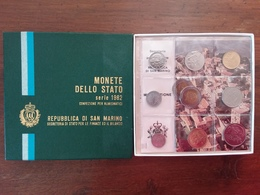 SAN MARINO - Annata F.D.C. 1982 Completa + 500 Lire F.D.C. + Spese Postali - Saint-Marin