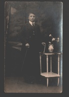 Lier - Originele Fotokaart - Portret - Julius Geuens, Lichtteekenaar, Berlarij, Lier - Lier