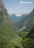 1 AK Norwegen * Die Landschaft Um Den Ort Stalheim - Geprägt Durch Steil Aufragende Felswände * - Norwegen