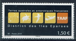 French Antarctic (FSAT), Scattered Islands In The Indian Ocean, Coat Of Arms, 2019, MNH VF - French Southern And Antarctic Territories (TAAF)