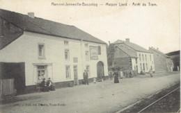 Ramont-jenneville-baconfoy Maison Liard Arret Du Tram Edit. Desaix PUB Pneu Houben Verviers - Libramont-Chevigny