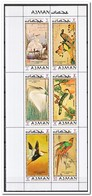 Ajman 1971, Postfris MNH, Birds - Ajman