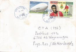 Guinea Guinee 2011 Koundara Football African Nations Cup Kanfory Sylla Cover - Coupe D'Afrique Des Nations