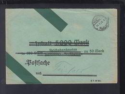 Dt. Reich Postsache Heilbronn 1928 Verschiedene Inhalt Postdokumente - Briefe U. Dokumente