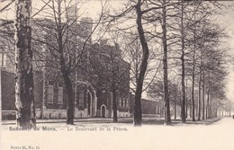 Souvenir De Mons, Le Boulevard De La Prison (pk57555) - Mons