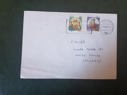 (27741) STORIA POSTALE ITALIA 1990 - 1981-90: Storia Postale