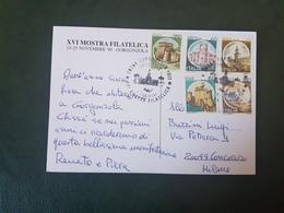(27742) STORIA POSTALE ITALIA 1990 - 1981-90: Storia Postale
