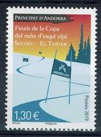 Andorra (French Adm.), FIS Alpine Ski World Cup, Finals, Soldeu, 2019, MNH VF - French Andorra