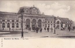 Souvenir De Mons, La Gare (pk57557) - Mons