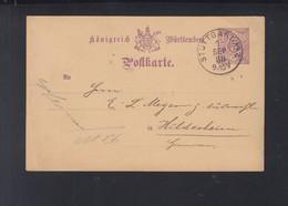 Württemberg GSK 1888 Vordruck Gutbrod & Co. Stuttgart - Wuerttemberg