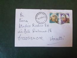 (27750) STORIA POSTALE ITALIA 1990 - 1981-90: Storia Postale
