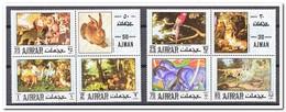 Ajman 1971, Postfris MNH, Birds, Animals - Ajman