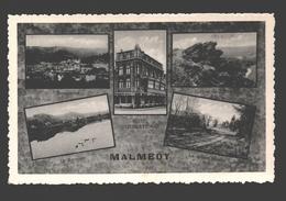 Malmedy - Carte Multivues - Hôtel International, Panorama, Rocher De Falize, ... - éd. Hôtel International, Malmédy 1949 - Malmedy