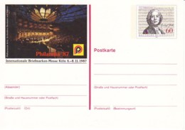 ALLEMAGNE : 1987 -  Entier Postal Neuf - Gluck - Philatelia'87 - [7] République Fédérale