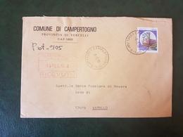 (27755) STORIA POSTALE ITALIA 1990 - 1981-90: Storia Postale