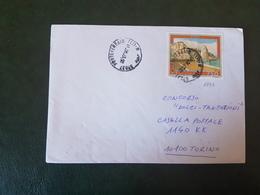 (27758) STORIA POSTALE ITALIA 1990 - 1981-90: Storia Postale