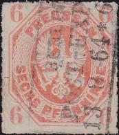 Preussen      .   Michel   15          .      O     .    Gebraucht     .   /   .   Cancelled - Preussen