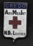 CREDO - ASS. MED. INT / N.D. DE LOURDES - ORIGINALE ANNI '30 - Associazioni