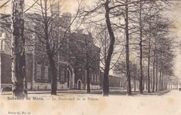 Souvenir De Mons, Le Boulevard De La Prison (pk57570) - Mons