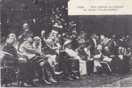 Liège, Nos Visiteurs Au Concert Du Jardin D'Acclimatation  (pk57574) - Liege