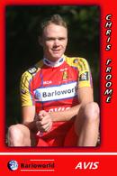 CARTE CYCLISME CHRIS FROOME TEAM BARLOWORLD 2008 - Radsport