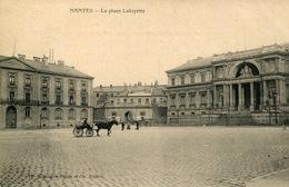44-Nantes - La Place Lafayette - Nantes