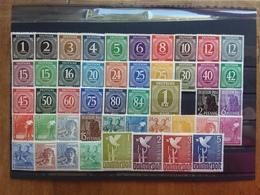 GERMANIA - OCCUPAZIONE ALLEATA 1946/47 - Emissioni Comuni Per America-GB-URSS Nuovi ** (1 Valore *) + Spese Postali - Zone Anglo-Américaine