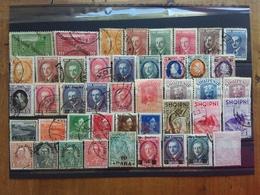 ALBANIA - Anni '20/'30 - Lotticino Nuovi */timbrati/senza Gomma + Spese Postali - Albania