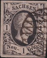 Sachsen       .   Michel   4        .      O     .    Gebraucht     .   /   .   Cancelled - Sachsen