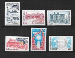 France Timbre De 1982 Non Dentelé Neufs ** Gomme Parfaite Cote 115 - Francia