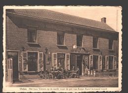 Olen / Oolen - Het Huis Vetters Op De Markt Waar De Pot Van Keizer Karel Bewaard Wordt - Café - Animatie - 1950 - Olen