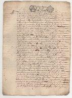 Acte 1678 - Cachets Généralité