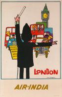 @@@ MAGNET - Air India London England - Publicitaires